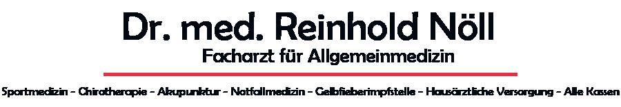 Praxis Dr. med. Reinhold Nöll